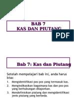 Chap07 Kas Dan Piutang
