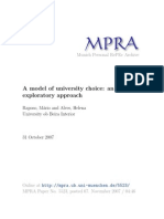 MPRA Paper 5523