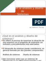Analisis y Diseño de Sistemas Intro2015_I