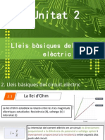 Tema 2 - Lleis Bàsiques Del Circuit Elèctric