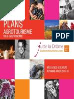 Les Bons Plans Agrotourisme Vin Gastronomie Ah 2015 2016