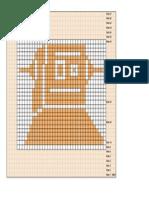 Robot Dishcloth Pattern Image