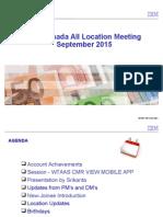 IBM Account Canada_All Location Meeting_Sep_2015