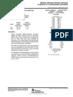 SN74LS42 TI - 4-Line BCD to 10-Line Decimal Decoders
