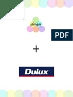 Booklet Dulux Campaign