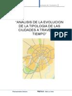 Analisis de La Tipologia de Las Ciudades Durante El Periodo de Crecimiento