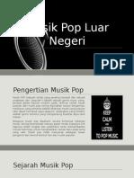 Musik Pop Luar Negeri