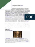Cronología de La Arquitectura Gótica