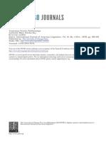 Araucanian Genetic Relationships, Key