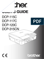 Brother DCP115C Manual