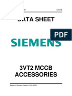 Siemens 3VT2 MCCB Accessories