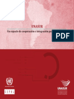 Unasul - Espaço de Cooperação e Integração para o Desenvolvimento