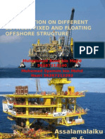 Presentation on Different Between Fixed and Floating Offshore