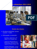 Biochimie CM1