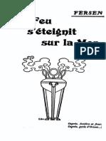 Et Le Feu s'Éteignit Sur La Mer - Adelswärd-Fersen, Jacques d'