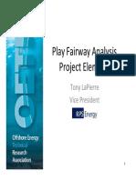1.15 1.40 PFA and Geoscience Data Package Program Tony LaPierre