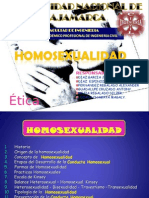 Homoxesualidad - Etica