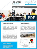 euromind - courses for teachers erasmus