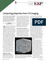 2008-Computing Properties Form 3D Imaging