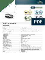 Nissan Qashqai 2014 Datasheet