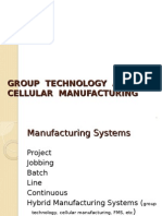 1. Group Technology and Cellular Manufacturing3