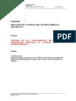 Metodos de Control de Entrenamiento Deportivo (Valencia 2005)-(Art. Spagnolo)