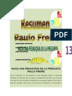 Paulo Freire Hacia Una Pedagogia de La Pregunta Resumen