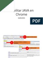 Habilitar JAVA en Chrome