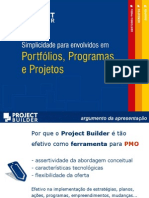 Apresentacao Project Builder PMO
