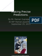 makingprecisepredictions-110925102058-phpapp01