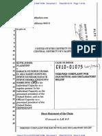 Jones v Obama Complaint CV10-01075 GAF