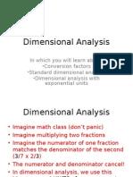 Dimensional Analysis - Copy