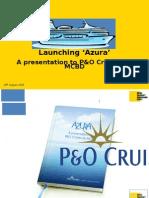 Launching 'Azura'