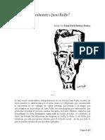 Cómo Era Realmente Juan Rulfo - Ensayo de Frank David BedoyaMuñoz -2015 -V2