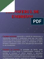 Recoltare Embrioni