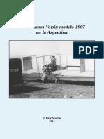 Eloy Martin,  Dossier Los biplanos Voisin modelo 1907  en la Argentina