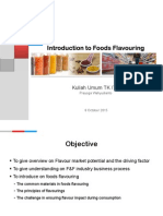 Introduction to Foods Flavouring_v1.0