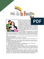 2DO DOMINGO - Día de La Familia.