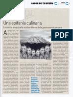 Una epifanía culinaria (cocina arequipeña). Ignacio Medina