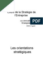 Cours de La Stratégie de L_Entreprise