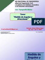 4° Clase Topografia Basica_Angulos y Direcciones (Dom 080315) (1)