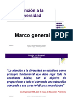 Atención a la Diversidad_Marco general