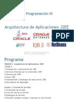 Arquitectura de Aplicaciones J2EE - Java