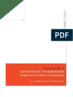 Manuel Rodríguez Sobre Lecciones de Estética de Kant