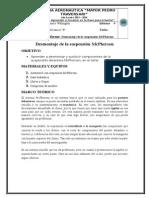 Informe Desmontaje de La Suspensión McPherson