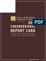 IAVA Action 2010 Congressional Report Card