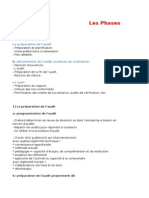 Les Phases d'Un Audit