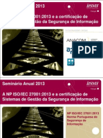 Itsmf Pt_ct163_np Iso Iec 27001 2013_paulo Coelho