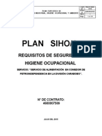 Requisitos de Seguridad e Higiene