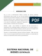Sistema de Bienes Nacionales